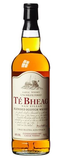 Whisky Té Bheag Connoisseurs Unchilfiltered 40%